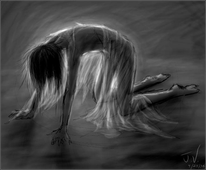 Image result for broken soul drawing