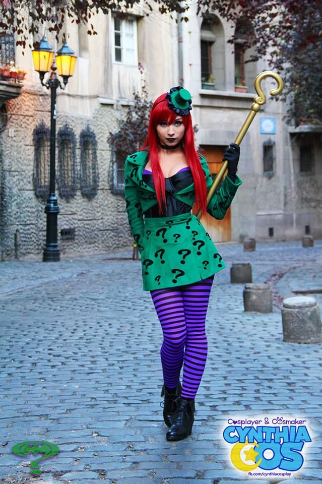 Miss Riddler  Cosplayer: Cynthia Cos (Cynthia Tapia)  Photographer: Matoalbo