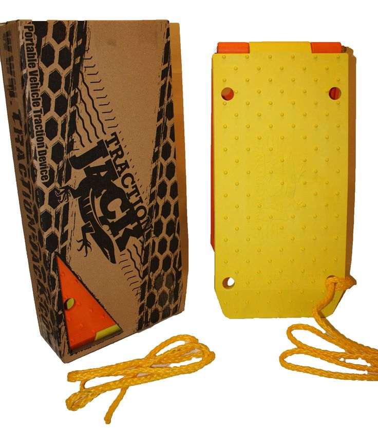 Traction Jack RRPTJ1801S Orange/Yellow Roadside Recovery Kit