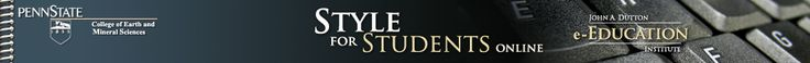 Style for Students Online: building a graduate resume