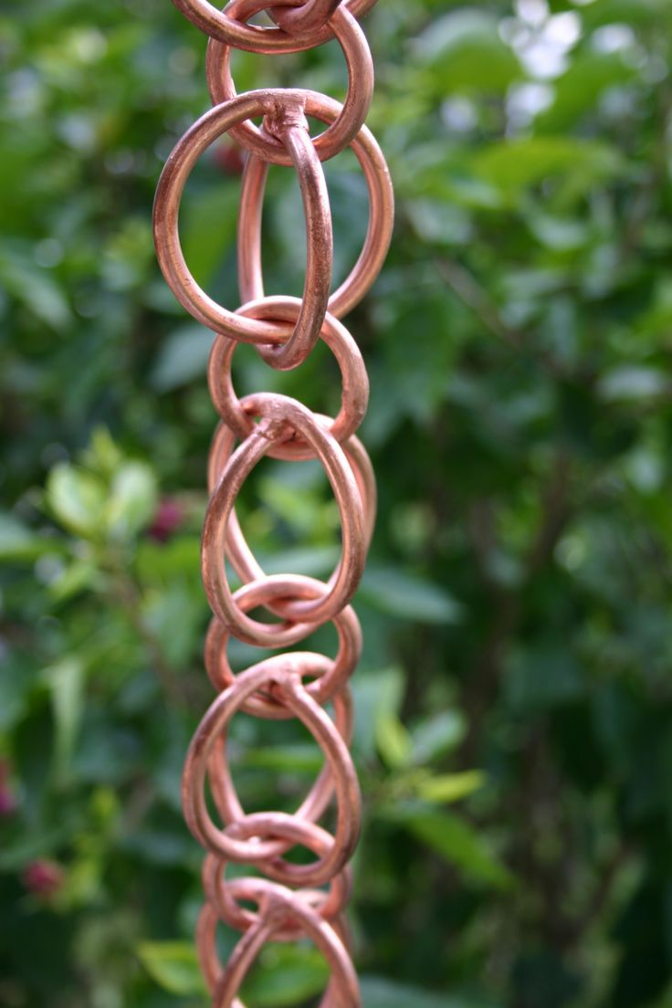 78 Images About Copper Gutters Rain Chain And Downspouts