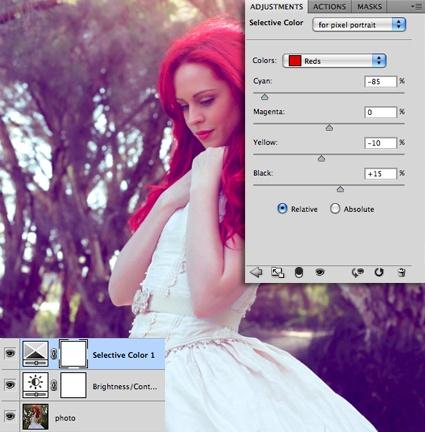 Современный фото эффект в Фотошоп
