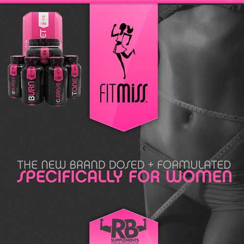 Fit Miss - Supplements designed for women!