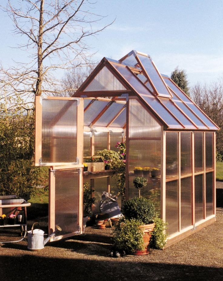 1000 Images About Backyard Greenhouse Kits On Pinterest