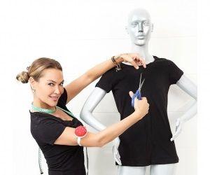 Hülya Avşar'ın Kesik Tshirt Modası
