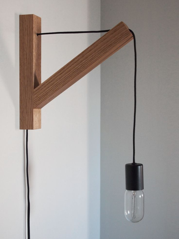 The Vitrine - Bracket Lamp, $300.00 (http://www.thevitrine.com/bracket-lamp/)