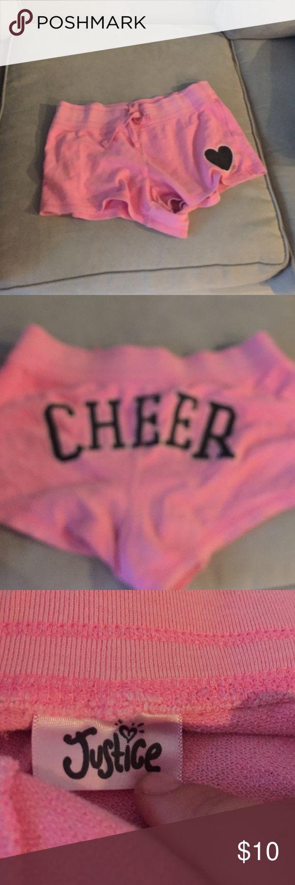 Justice shorts Pink Justice cheer shorts Justice Shorts