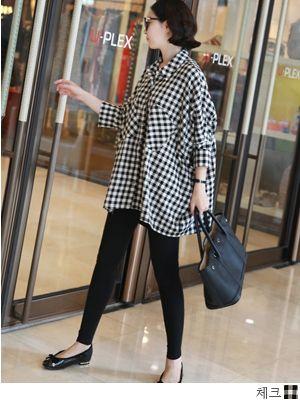 korean fashion online store [COCOBLACK] Check box nb / Size : FREE / Price : 47.89 USD #korea #fashion #style #fashionshop #cocoblack #missyfashion #missy #top #NB #shirts #dailylook #checkshirts