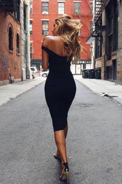 Pretty black dresses pinterest