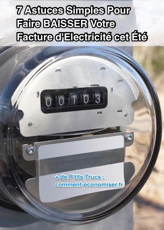 7 astuces simples pour faire baisser votre facture d 39 lectricit cet t matt electricit - Economiser electricite maison ...