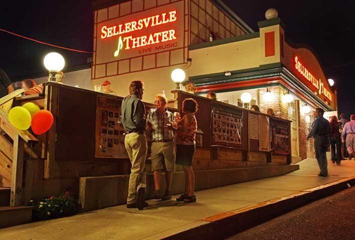 Sellersville Theater Washington Houses Concert Venue Music Venue