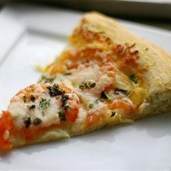 boa!!!Massa de pizza perfeita