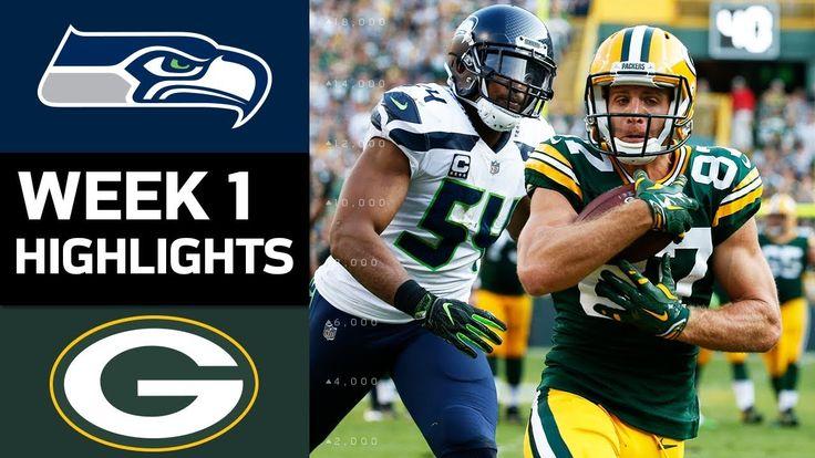 Seahawks vs. Packers | NFL Week 1 Game Highlights - NFL News Videos