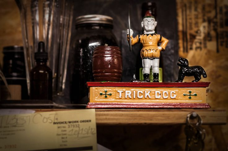 Trick Dog, San Francisco. Completely redesigns itself every six months. Named as one of the world's 50 best bars. Has a Chinese restaurant theme as of January 2015.