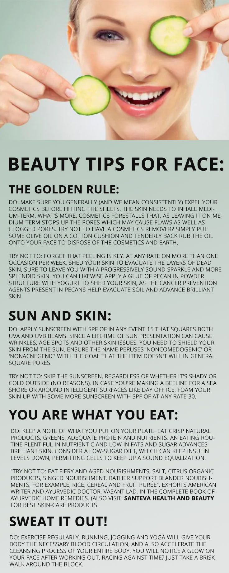 Pin on Skin Care Infographics