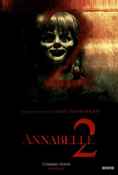 """Several years after the tragic death of their little girl, a dollmaker and his wife welcome a nun and several girls from a shuttered orphanage into their home, soon becoming the target of the dollmaker's possessed creation, Annabelle."""