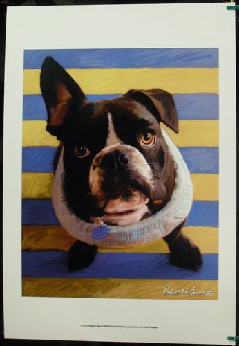$19.99  DOG Pets ART Print Frenchie Beau BY Robert Mcclintock   eBay #dog #pets #walldecor