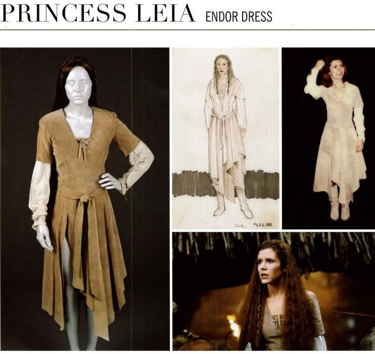 Princess Leia Endor dress