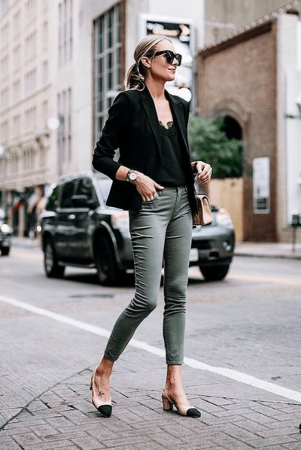 45 Trendy Business Casual Work Outfits For Women Outfitcafe Work Outfits Women Business Casual Outfits For Women Spring Work Outfits