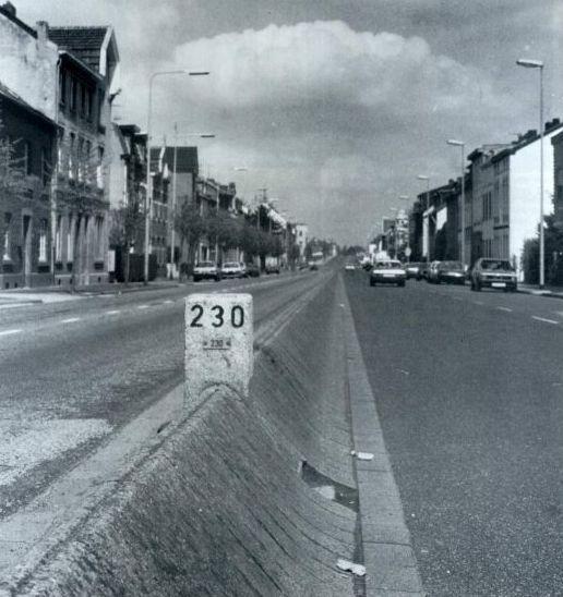 De Nieuwstraat te kerkrade L ned R Duitl.