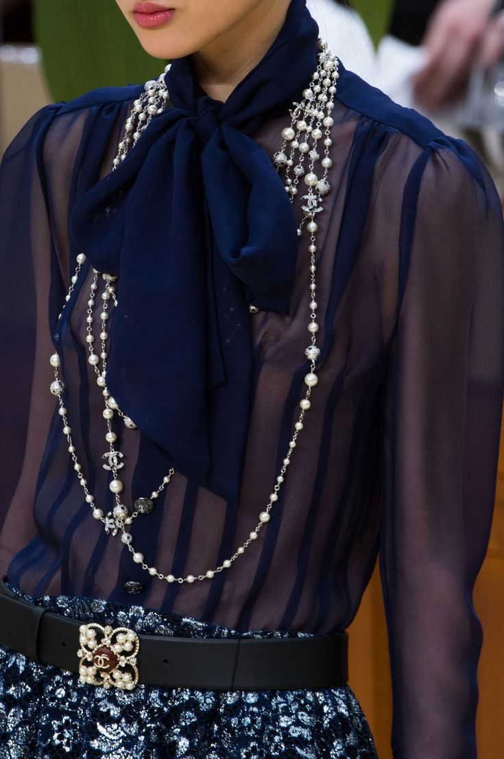 469 details photos of Chanel at Paris Fashion Week Fall 2015.