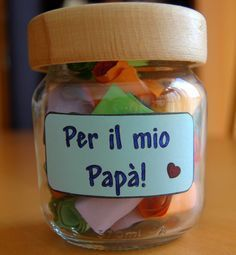 Ancora regali per la Festa del Papà: il vasetto delle coccole