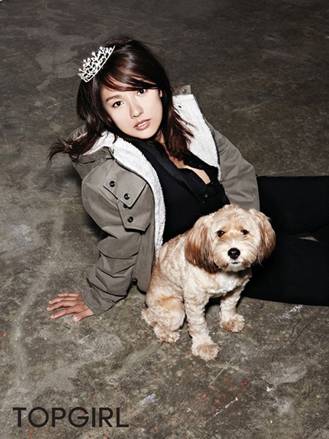 Lee Hyori Oh Boy! Magazine November 2011