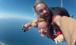 Groupon - One Tandem Skydiving Jump from GoJump Oceanside (Up to 51% Off). Two Options Available. in Oceanside. Groupon deal price: $49