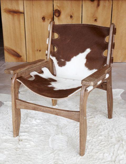 24 Best Cow Hide Furniture Images On Pinterest