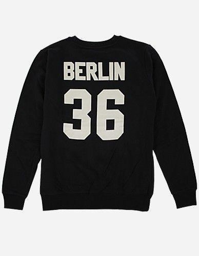 Depot2 Berlin - Berlin 36 Sweater black bone