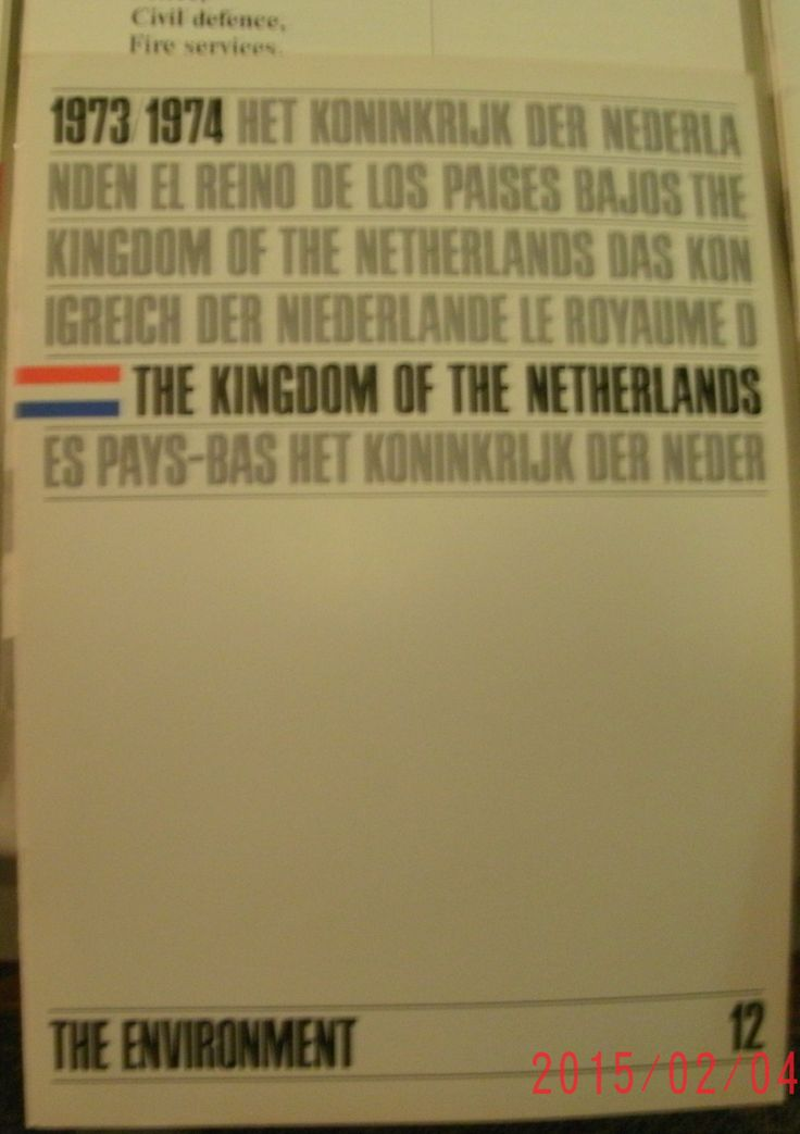 The Kingdom of the Netherlands: 16 illustrated facts & figures booklets, 1973 - 74, good shape by VintageNEJunk on Etsy