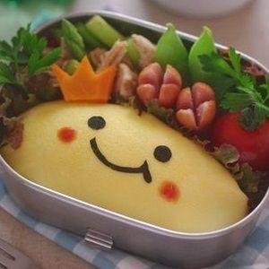 お弁当:にっこりオムライスの作り方