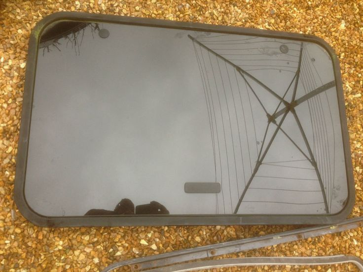 Renault Clio 1998-2005 Complete Glass Sunroof Tinted with Weather Seal / Bolts