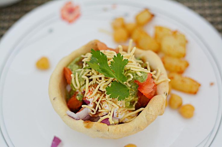 Katoori chaat baked read