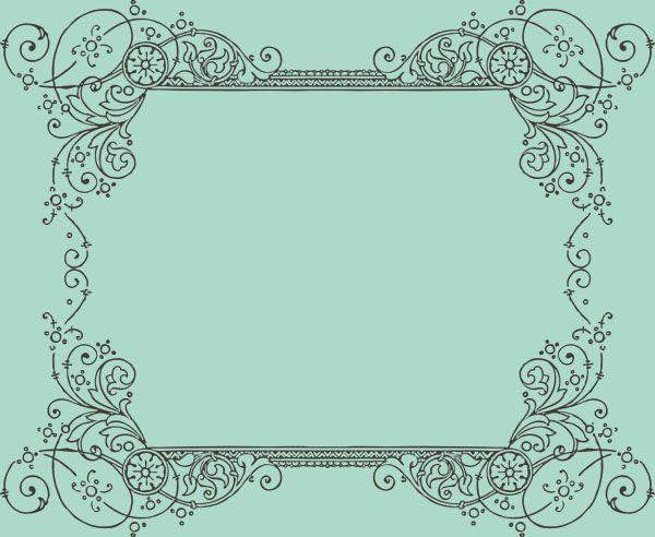 FREE: Vintage Frames Borders & Ornaments