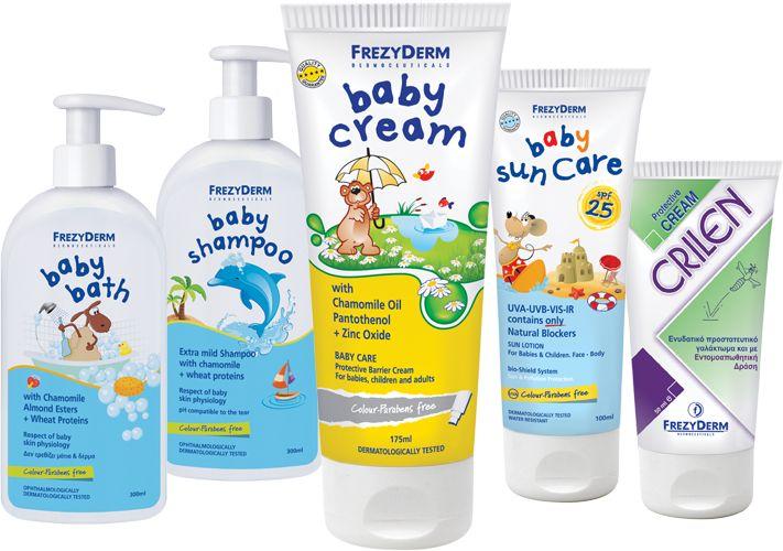 frezyderm babyline products