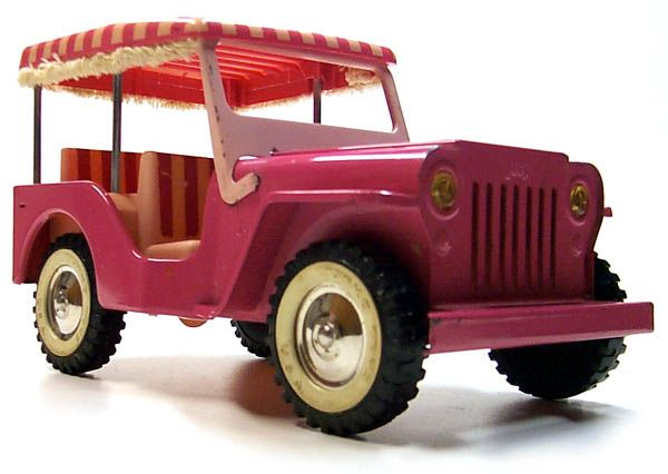 This Tonka Toy Jeep Surrey Was Made In 1962 Is There A Toy Being