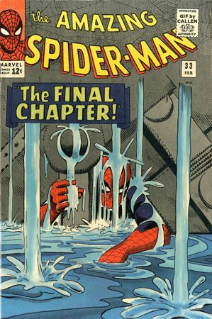 Classic comic covers animated to life #Kerry Callen #Spider Man