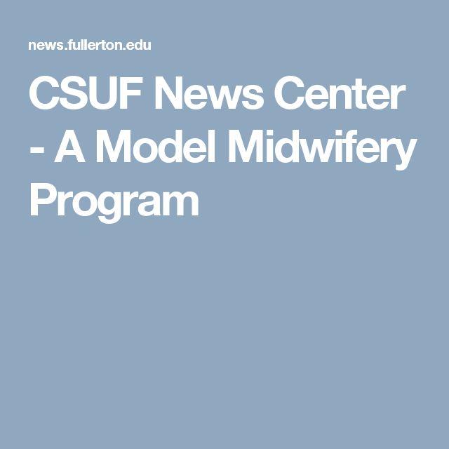 CSUF News Center - A Model Midwifery Program