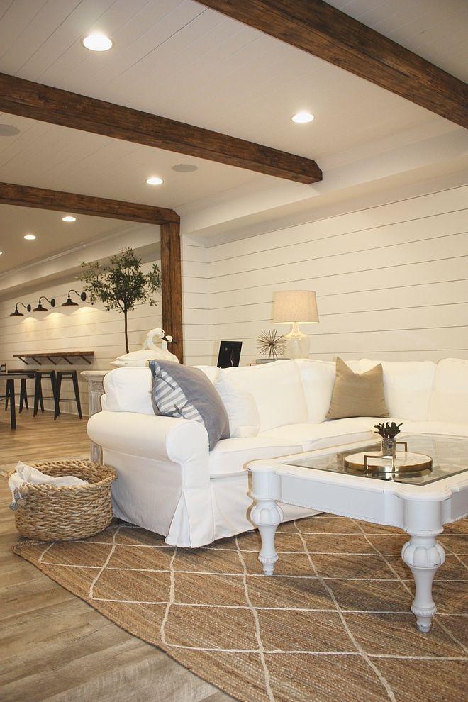 Colors -floor, beams, white