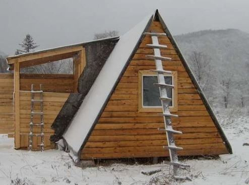 Tiny A-Frame House