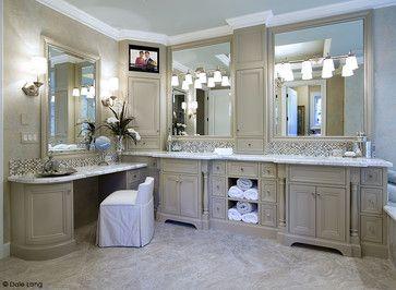Bathed in Luxury - bathroom countertops - portland - Infinity Countertops, Inc.