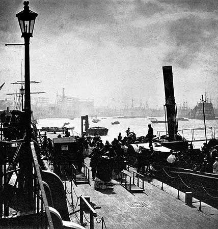 Greenwich Pier, Greenwich, London, 1860s
