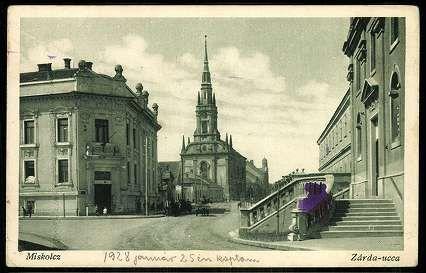 Miskolcz Zárda-ucca   Képeslapok   Hungaricana