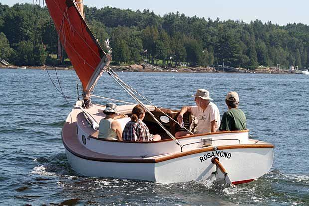 159 best Catboat images on Pinterest | Sailing, Sailing ...