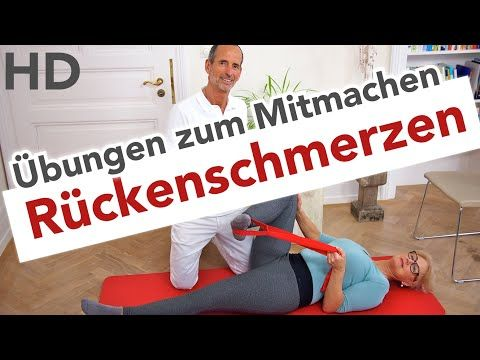 Rücken Übungen // Rückenschmerzen, Faszien Training, Übungen für den Rücken, Schmerzen Rücken - YouTube