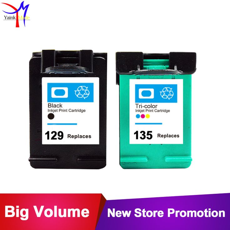 Printer Ink Cartridge for HP 129 135 xl Compatible for HP 129xl 135 Photosmart C4110 C4140 C4150 C4170 C4180 C4183 C4188 C4190. Yesterday's price: US $29.90 (24.62 EUR). Today's price: US $18.54 (15.30 EUR). Discount: 38%.