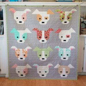 Dog Gone Cute Quilt | Quiltsby.me