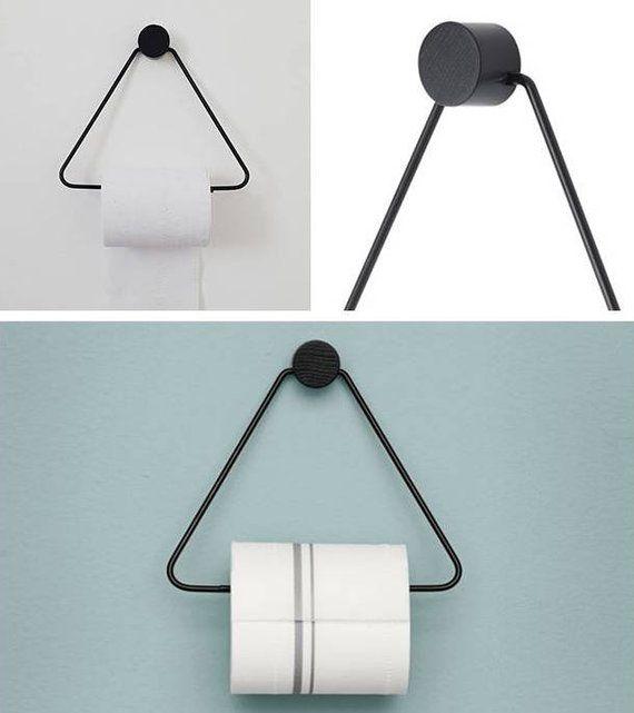 Nordic Design Bathroom Toilet Paper Holder Gold Scandinavian