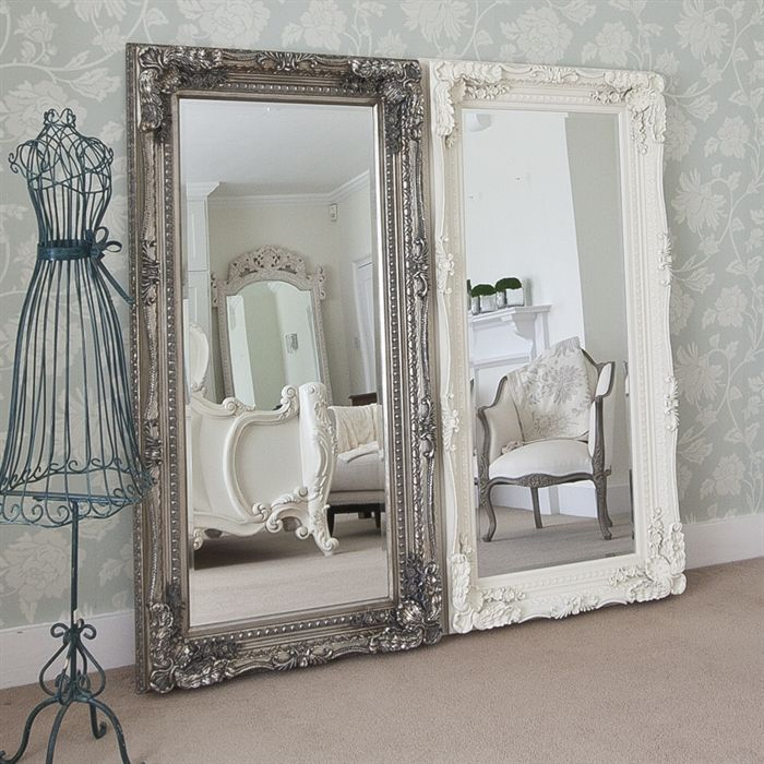 Sofia All Glass Modern Mirror | Frameless Mirrors | Free UK Delivery